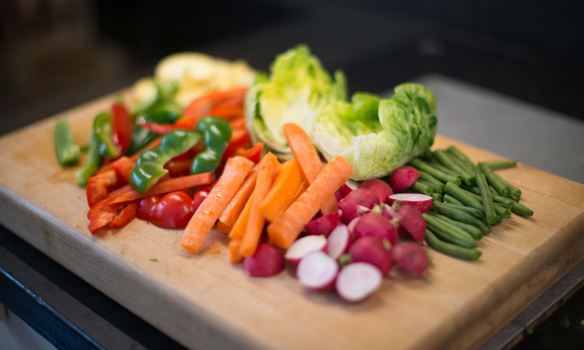 Ten Minute Rainbow Crudités By Julie Montagu