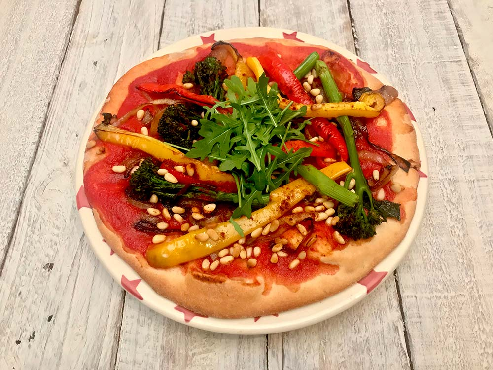 Free Foods Vegan Pizza - Recipe By Julie Montagu