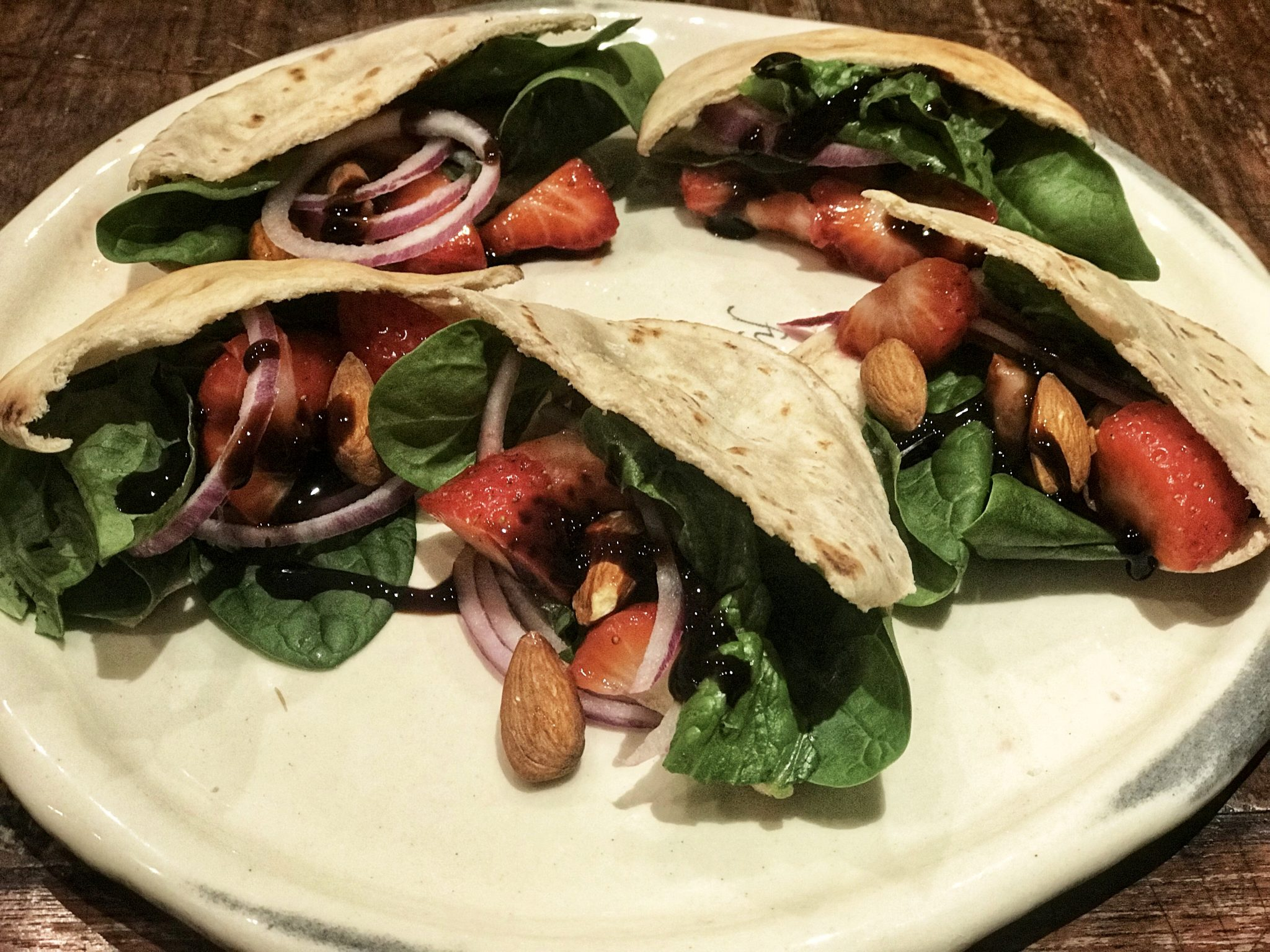 Strawberry Salad Pitta Pockets Julie Montagu