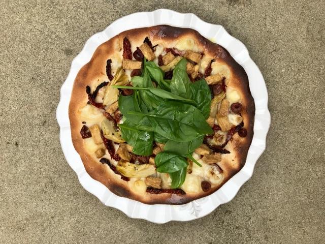 Tofu Pizzas Julie Montagu