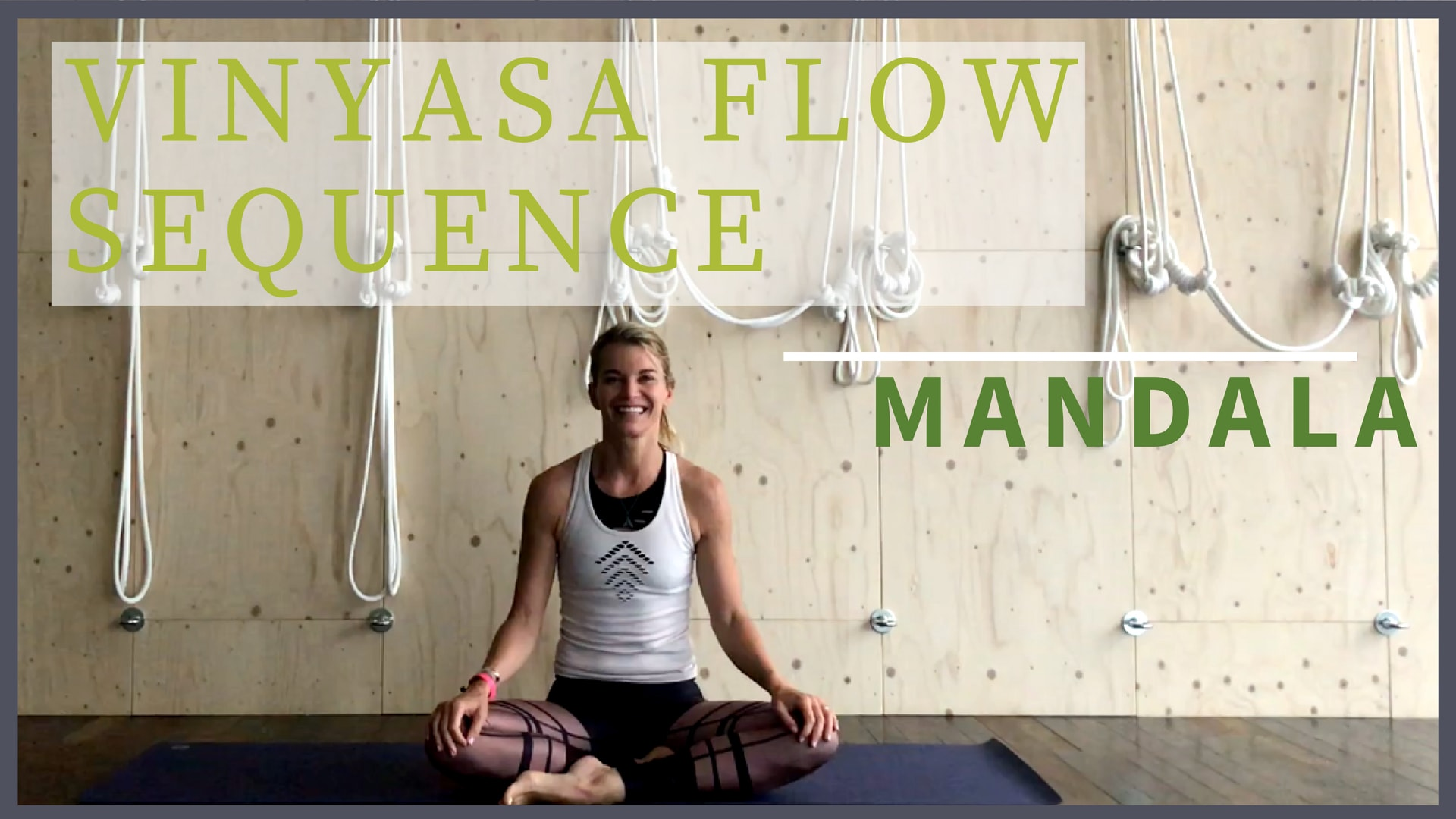 Vinyasa Flow Sequence Mandala