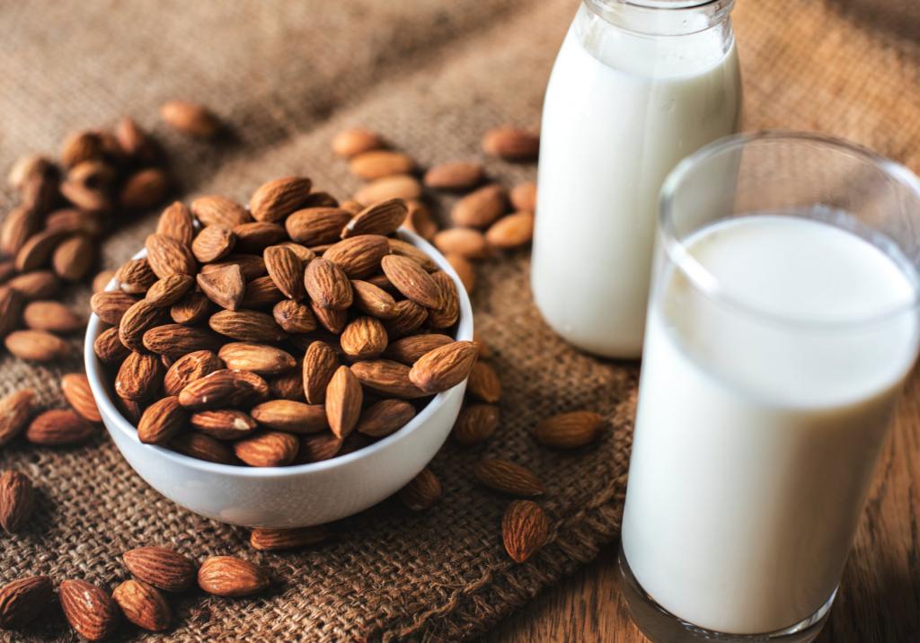 Nut Milk Plant Based Diet
