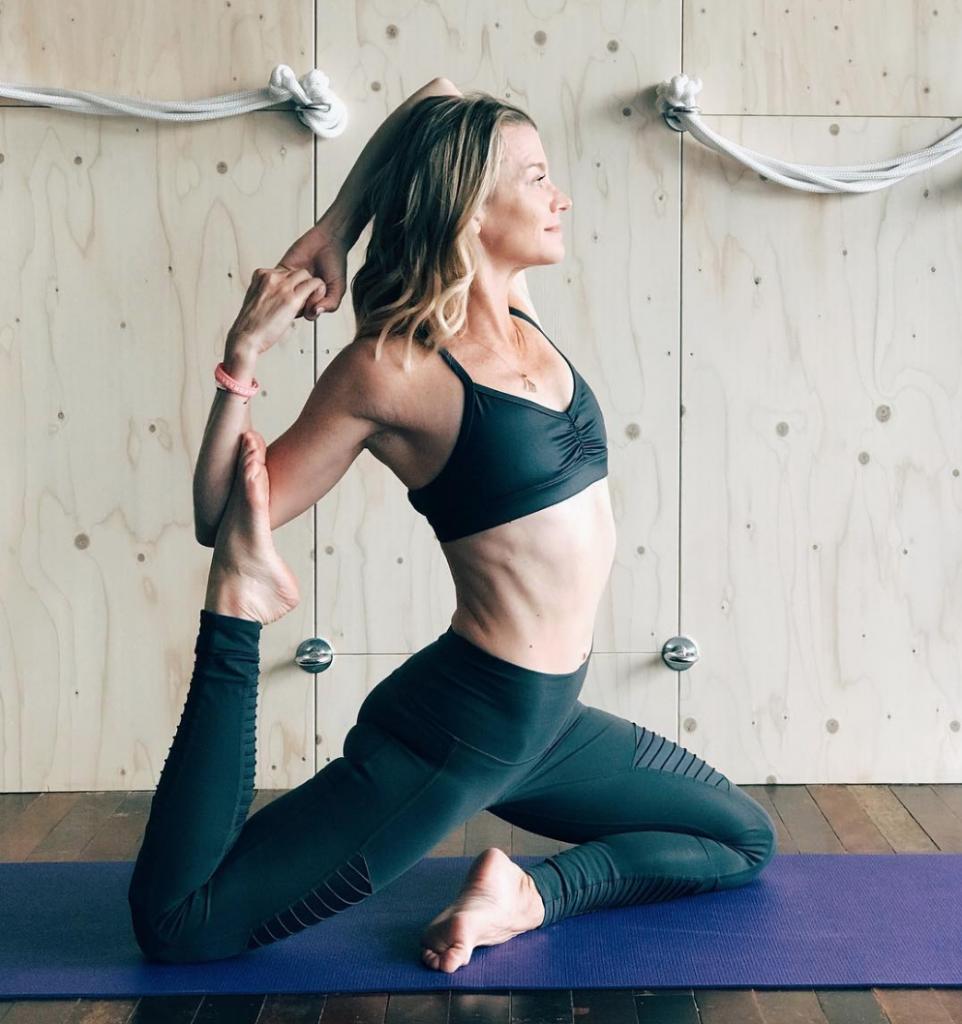 yoga running whole self