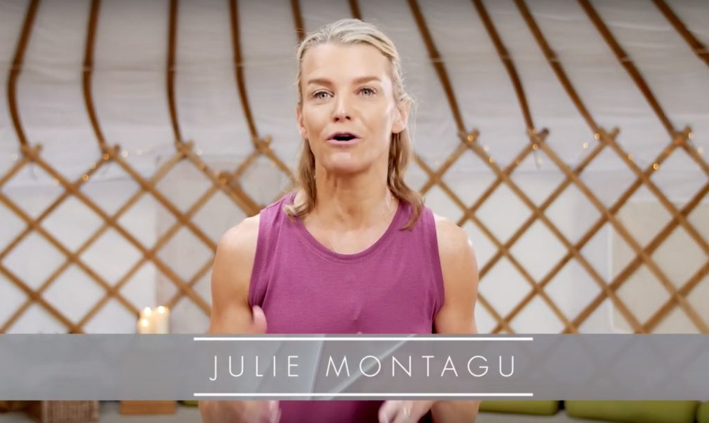 yoga with julie montagu online