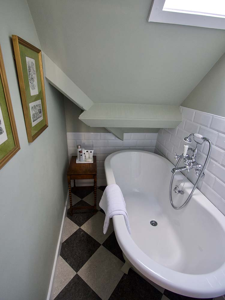 Mapperton House stylish bath