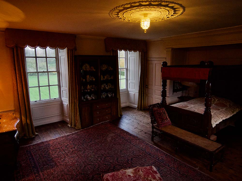 Mapperton House west room bedroom