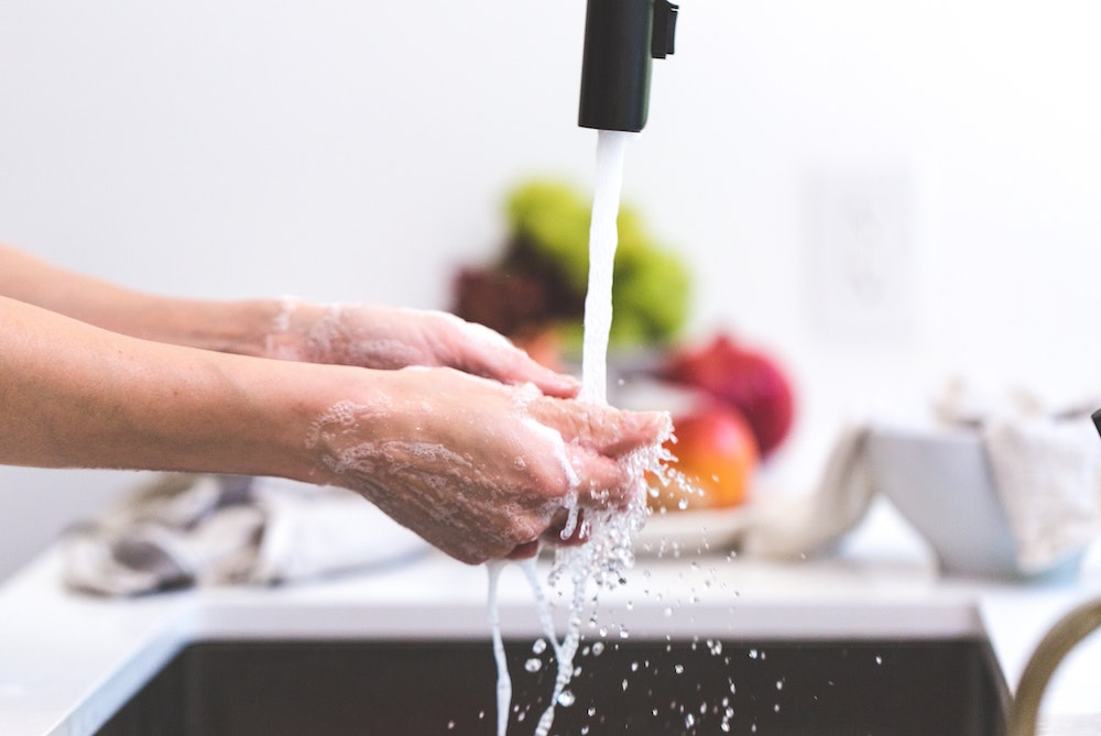 hand washing immune system
