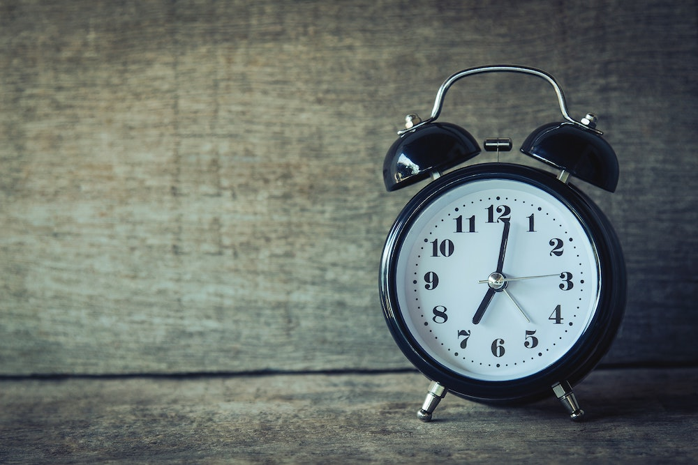 time routine importance health