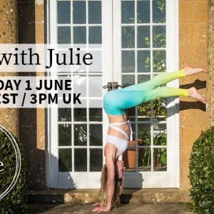 LIVE Yoga With Julie – Monday 1st June – 10am EST || 3pm London