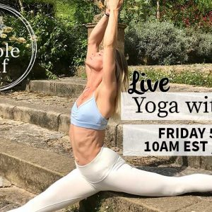 LIVE Yoga With Julie – Friday 5th June – 10am EST || 3pm London