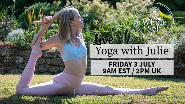 Live Yoga with Julie - Friday 3rd July