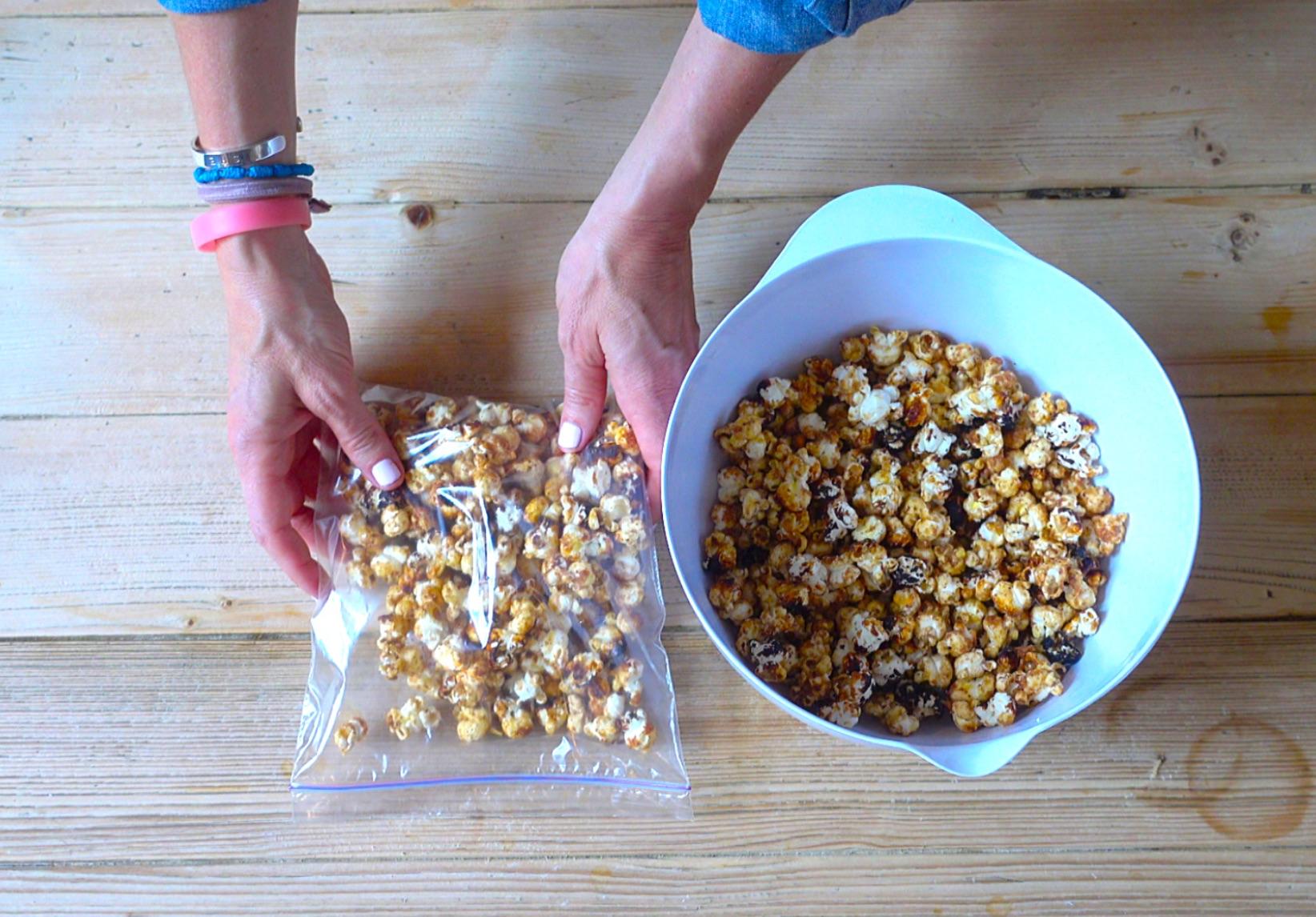 Toffee Caramel Popcorn
