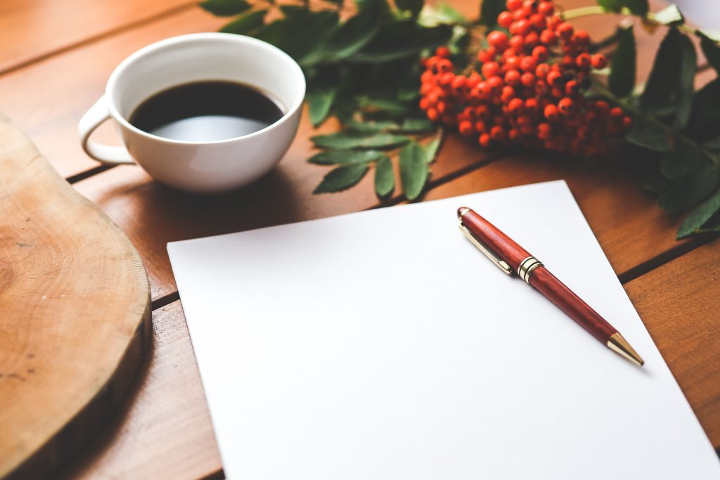 writing journal gratitude
